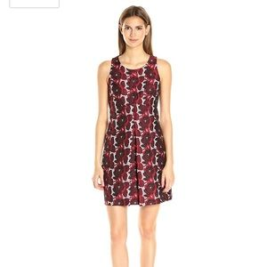 Rachel Roy floral Jacquard dress